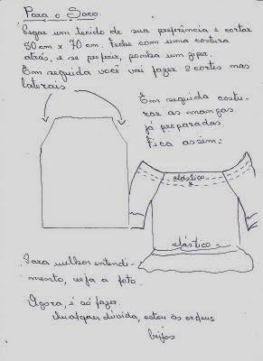 Moldes para fazer um puxa saco em formato de vaquinha