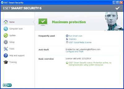 ESET Smart Security 6.0.316 Full Key