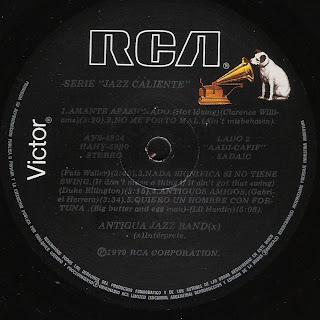 Antigua Jazz Band: Jazz Caliente III (1979)