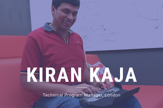 Kiran Kaja, Technical Program Manager, London