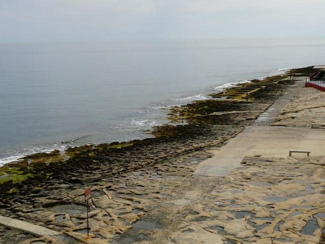 Plaża w Sliemie, Malta