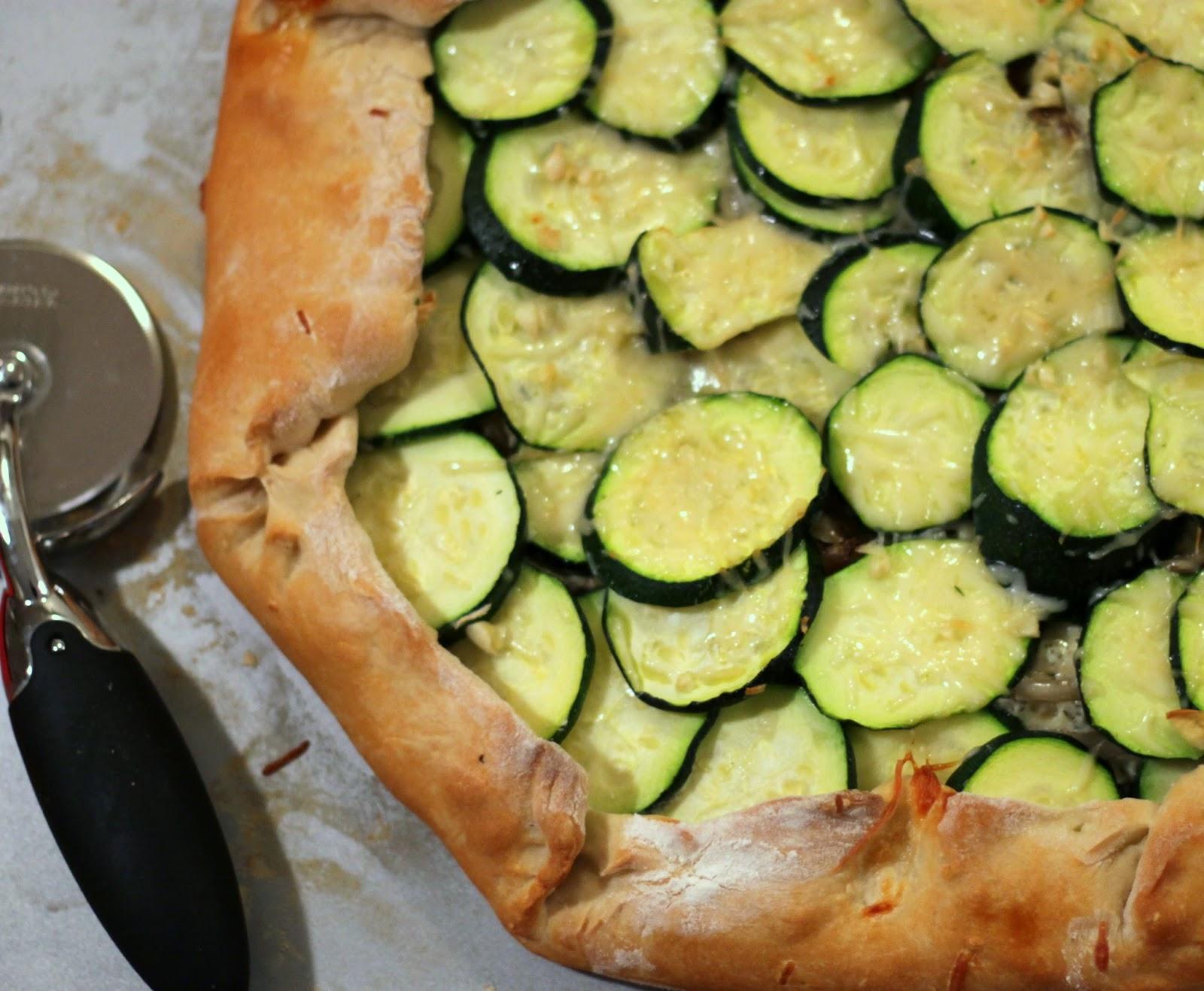 Zucchini And Ricotta Galette Recipes — Dishmaps