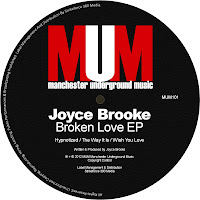 Joyce Brooke Broken Love EP Manchester Underground Music