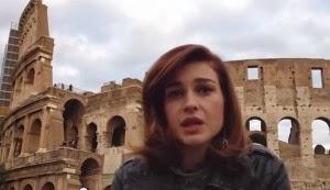 Le armi chimiche della Siria in Albania : Elsa Lila videoprotesta contro il governo .
