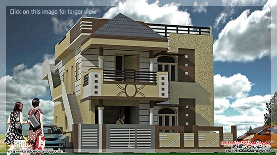December 2012 kerala home design and floor plans for Tamilnadu house plans with photos