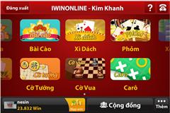 iwin 443 cho điện thoại