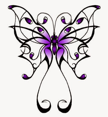 great celtic butterfly tattoo