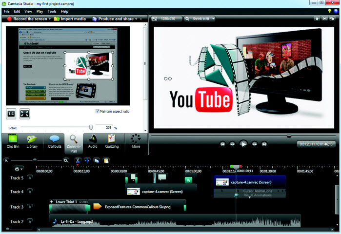 Скачать бесплатно Camtasia Studio 8.4.3 Build 1794 RePack. Camtasia Studio - мо