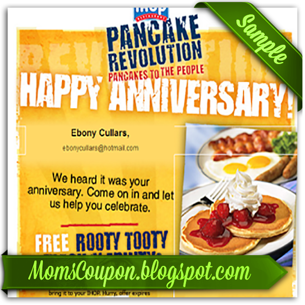 Ihop discount coupon