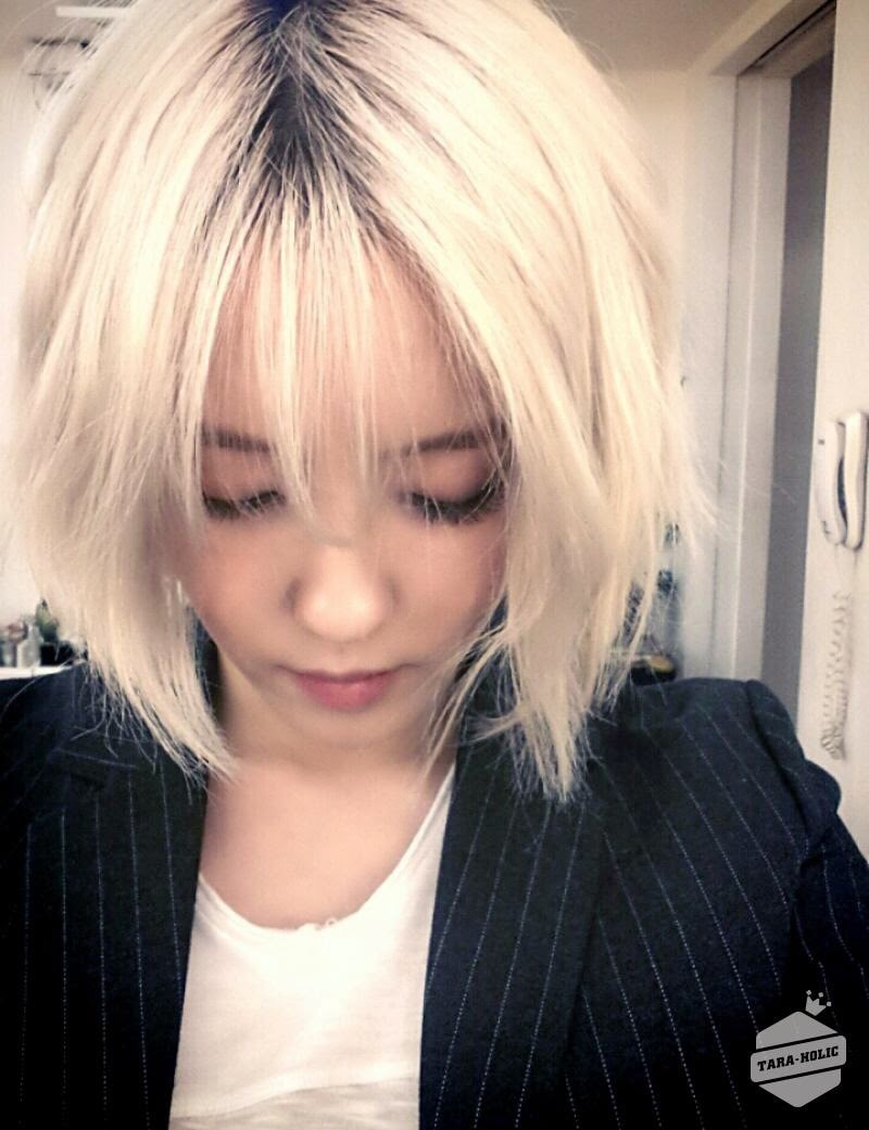 hyomin short hair