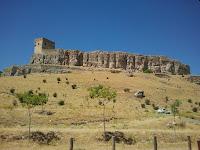 restos castillo, Atienza