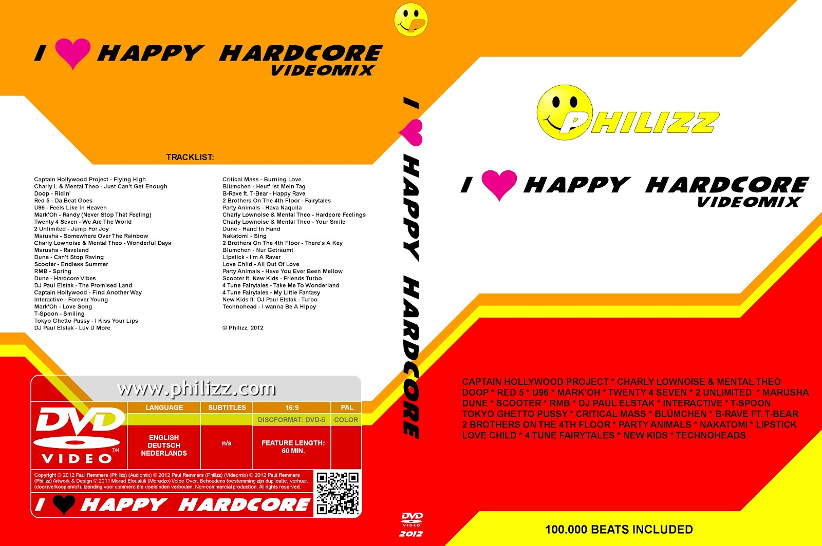 Philizz - I ♥ Happy Hardcore