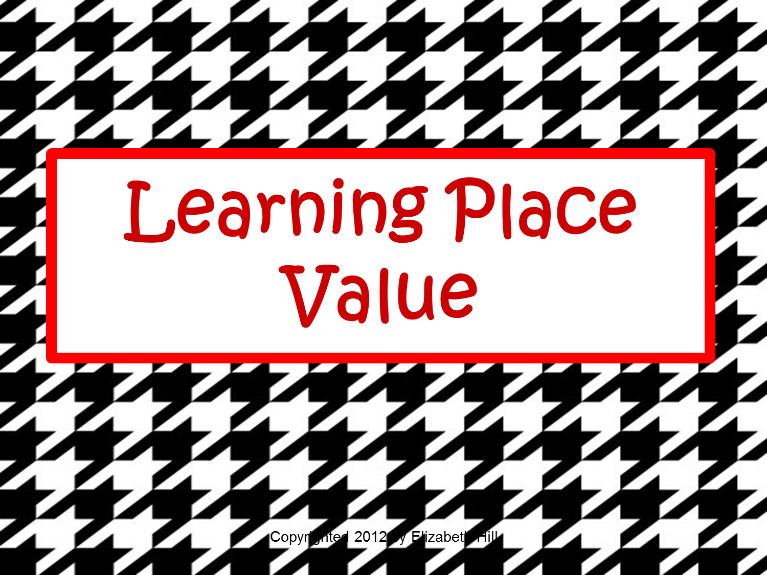 Tricks of the Teaching Trade: Pirate Place Value