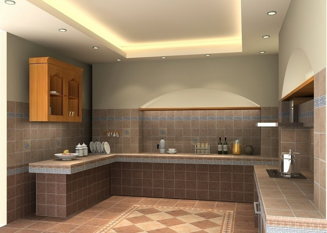 Ceiling design ideas for small kitchen 15 designs for Ceiling styles ideas