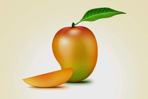 Mango Fruit Icon PSD