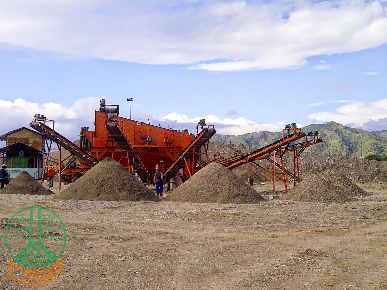 Project CSP Stone Crushing Plant 100-120 Tph PT Hutama Karya Wilayah 7, Oe Cusse - Timor Leste (04)