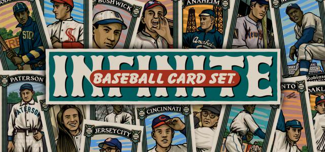 The Infinite Baseball Card Set