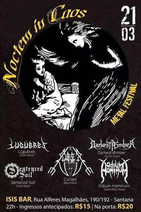 21-03-2015 - NOCTEM IN CAOS METAL FESTIVAL - São Paulo - SP