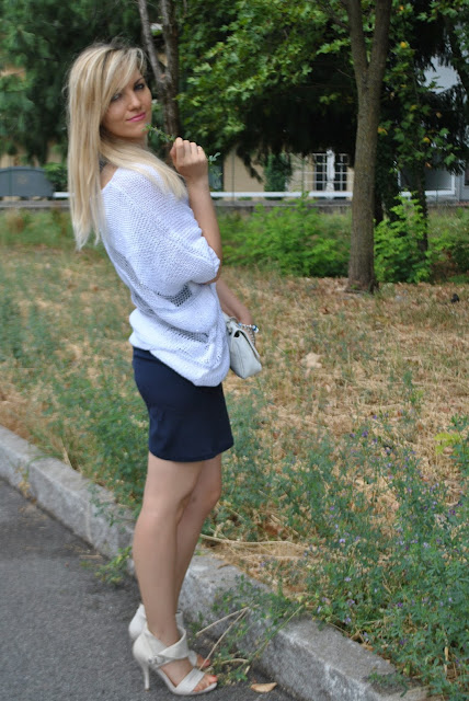 outfit bianco e blu come abbinare il bianco come abbinare il blu blue outfit how to wear blu how to wear white white outfit  mariafelicia magno fashion blogger colorblock by felym fashion blog italiani outfit estivi donna outfit estate 2015 outfit luglio summer outfit s summer outfits for girls