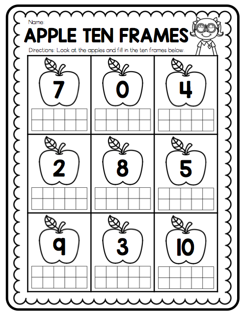 Ship Shape First Grade: Teaching with Ten Frames