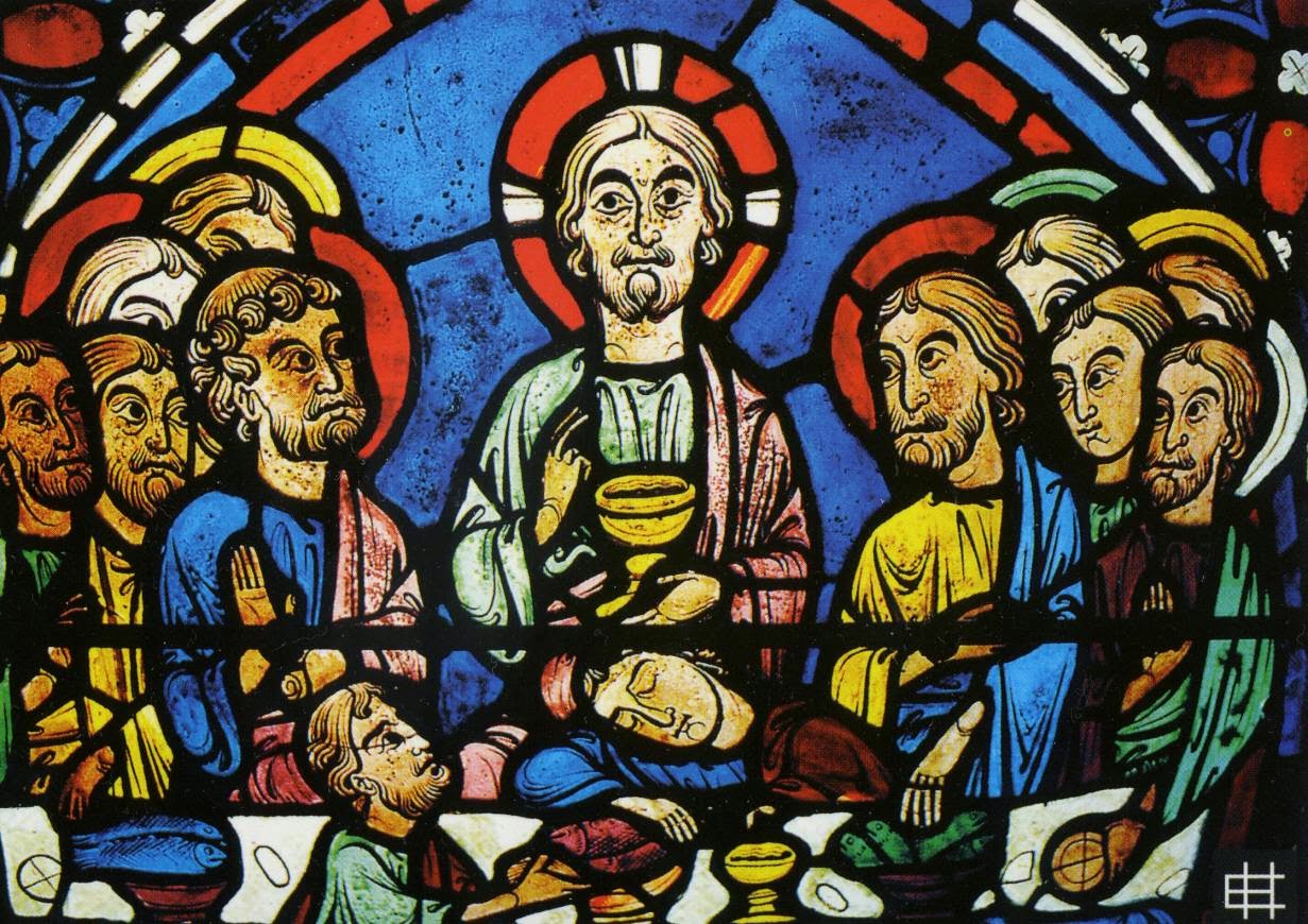 Arte blog arte gotica le vetrate della cattedrale di - Finestre circolari delle chiese gotiche ...