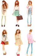 Mary RoseSpring outfits. Posted by Princessmio at 1:21 PM