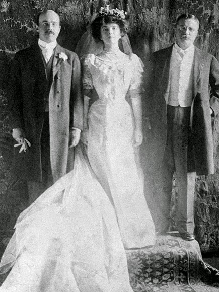 Meaning That Edith Got To Enjoy The Last 2 Years Of His Term With Alice Living Somewhere Else Their Wedding Photo Is Something