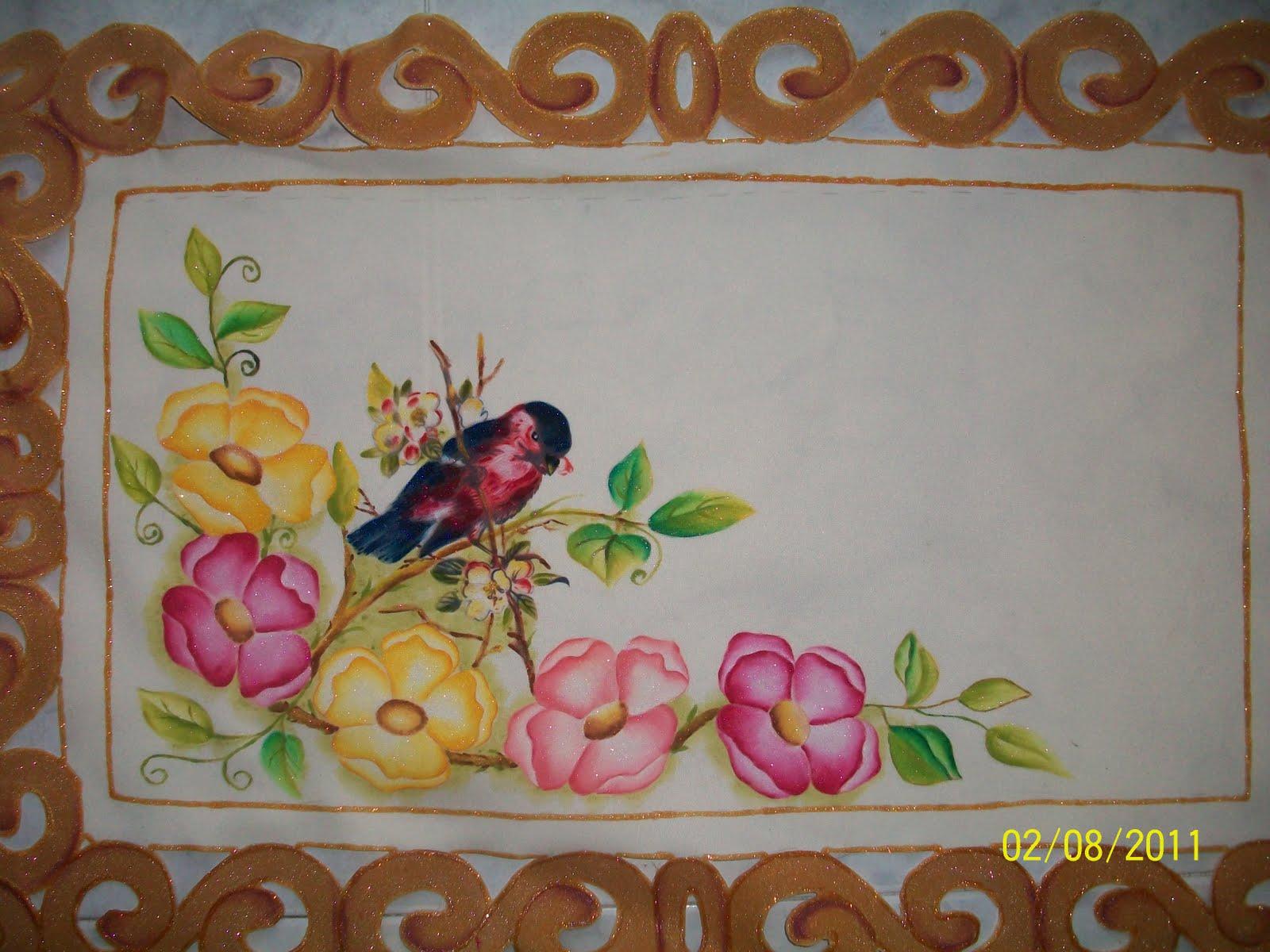 Amararte manualidades pintura en tela carpetas cuadros - Imagenes de mesas con manteles ...