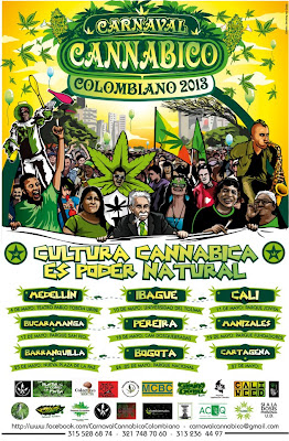carnaval cannabico Colombiano 2013