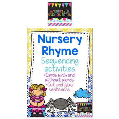 https://www.teacherspayteachers.com/Product/Nursery-Rhyme-Sequencing-Activities-1948014