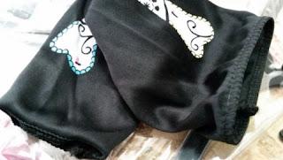 Girl's Teen Dia De Los Muertos Costume sleevelets