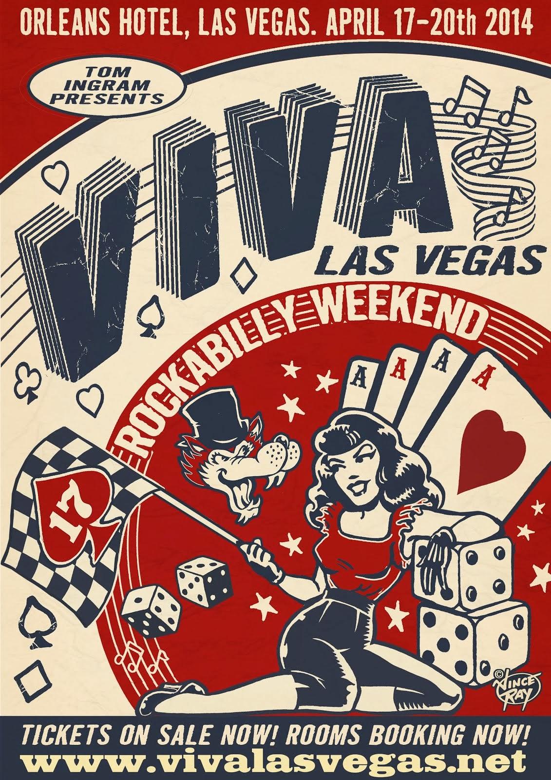 Viva Las Vegas Rockabilly Weekender 2014
