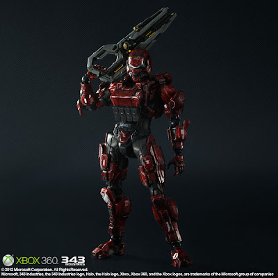 Squre Enix - Play Arts HALO 4 Red Spartan Soldier Figure