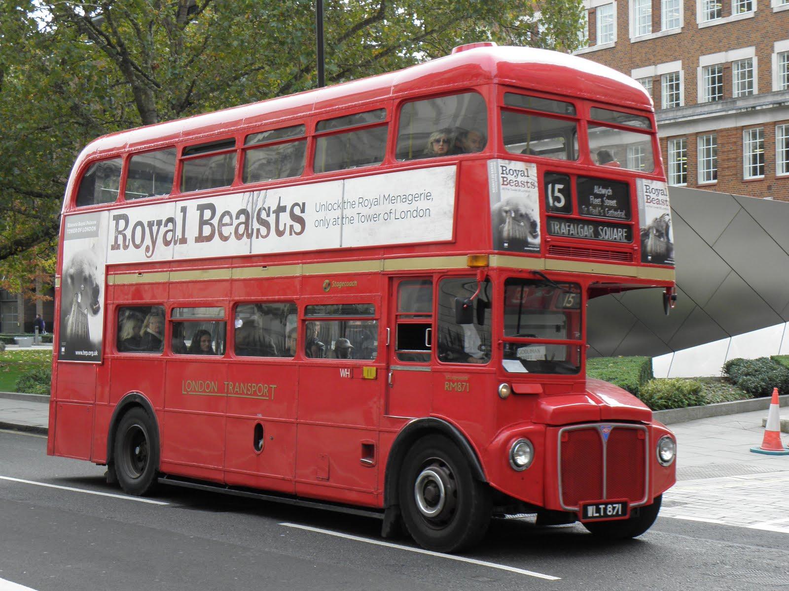 Λονδίνο - λεωφορεία