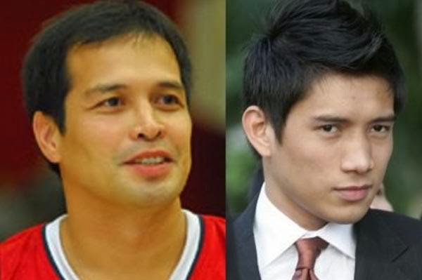 Alvin Patrimonio and James Yap