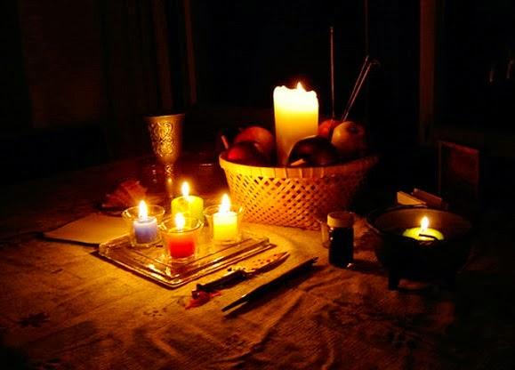 rituales, velas