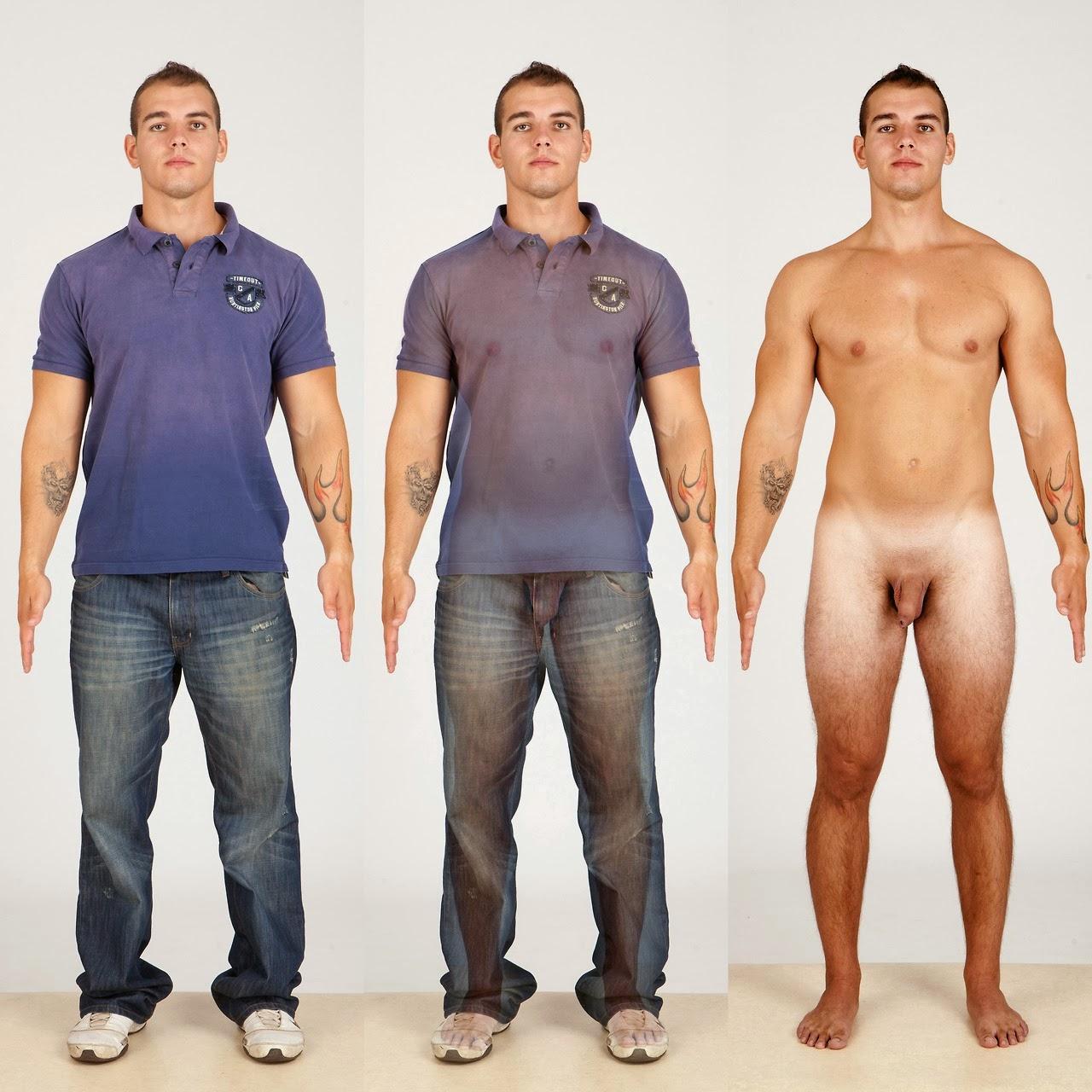 Одетые И Обнаженные Мужчины