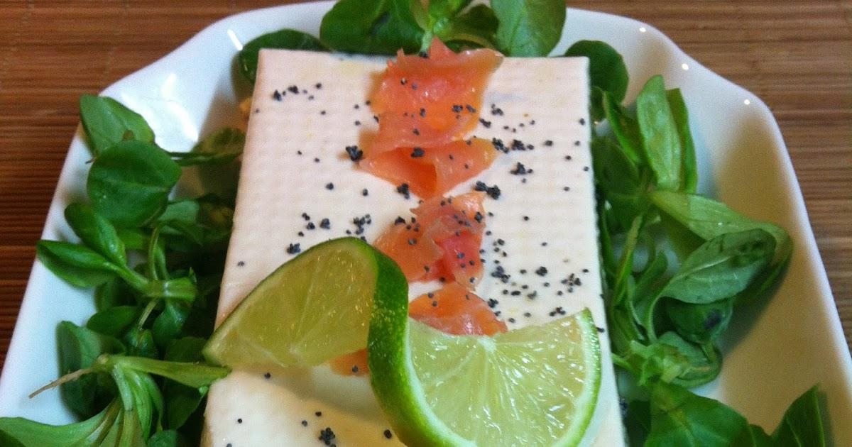 Las recetas de martuka mousse de salm n ahumado con can nigos for Como se cocina el salmon