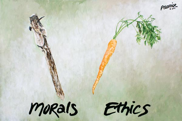 ethics in society today