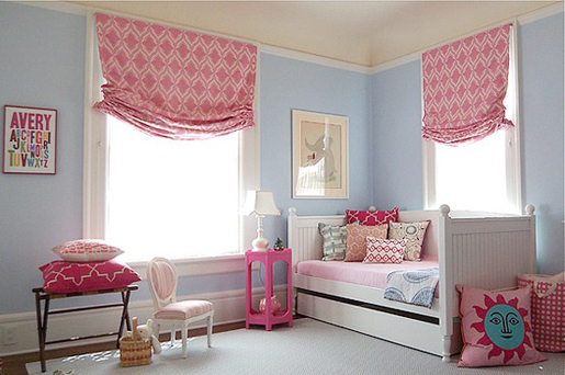 Pink And Blue Rooms For Girls | Design Interior