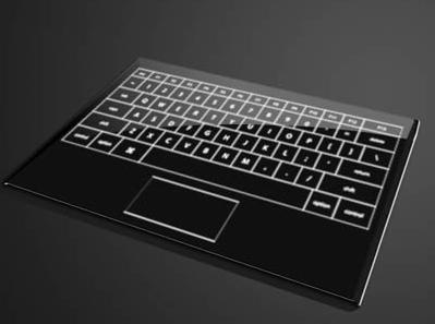 HAKING: Touch Screen Keyboard