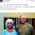 PDP Lagos State governorship aspirant, Jimi Agbaje introduced his running mate as Alhaja Safurat Olayinka