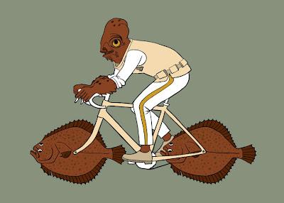 Biciklis karikatúrák