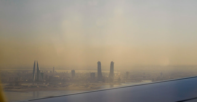 Bahrain from the air, D200