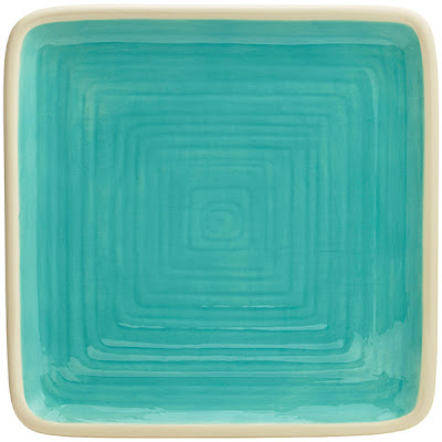 Create a spring look for family and guests to enjoy with Katie Brown Turquoise Dinnerware 4 Square Dinner Plates .  sc 1 st  Everything Turquoise & Dinnerware | Everything Turquoise | Page 15