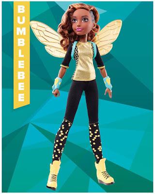 TOYS : JUGUETES - DC Super Hero Girls Bumblebee | Muñeca - Doll Producto Oficial | Mattel 2016 | A partir de 6 años Comprar en Amazon España & buy Amazon USA