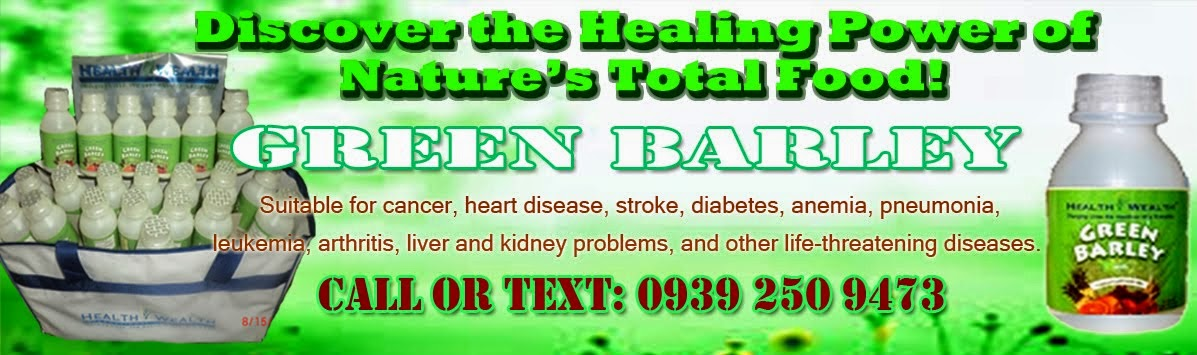 Green Barley for Healthy Life
