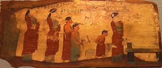 Las ideas religiosas de los griegos primitivos se manifestaron en el Culto a los Antepasados y en el Culto de los Grandes Dioses.