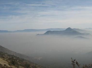 Santiago en día de alerta ambiental