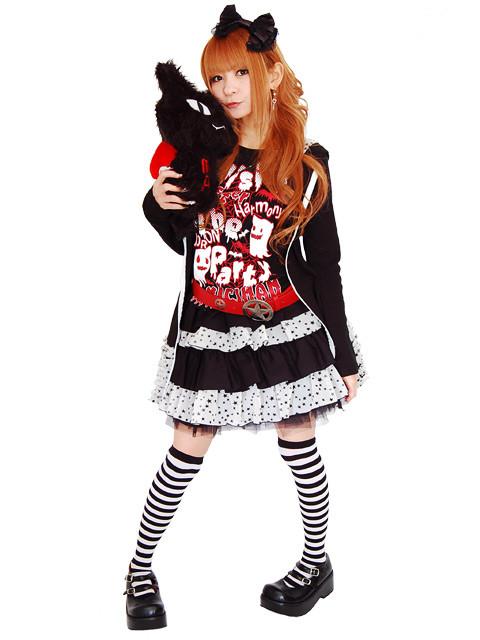 gothic punk style clothing